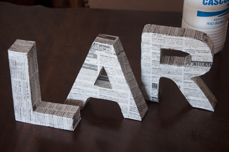 Letras decorativas 7