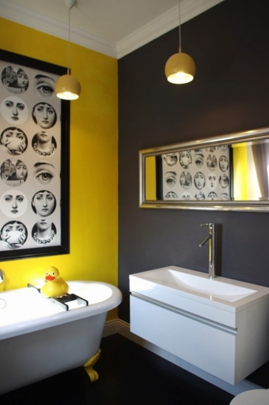 Banheiro amarelo 7