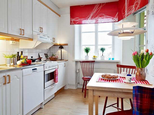 Vermelho na cozinha 8