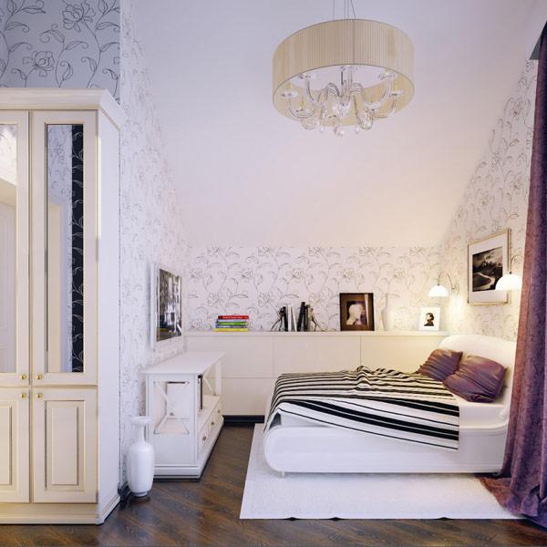Decoração de quarto pequeno 8