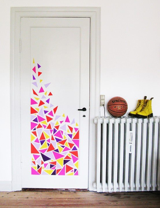 Decoração da porta 8