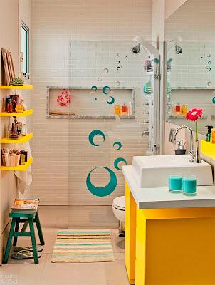 Banheiro amarelo 9