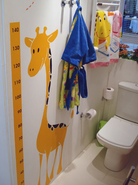 Decoração de banheiro infantil -> Decorar Banheiro Infantil