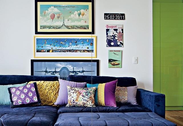 Sofá colorido 2