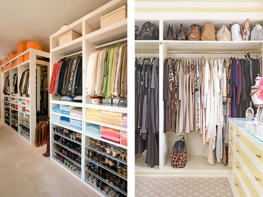 Como organizar o armário 2