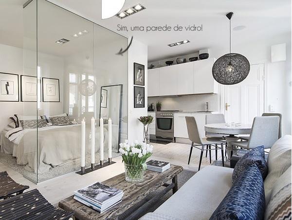 Apartamento pequeno decorado 3