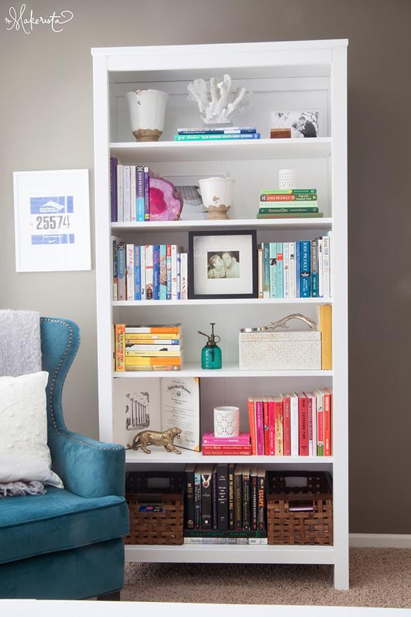 Organizar a estante de livros 3