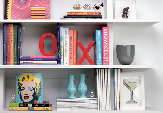 Organizar a estante de livros 5