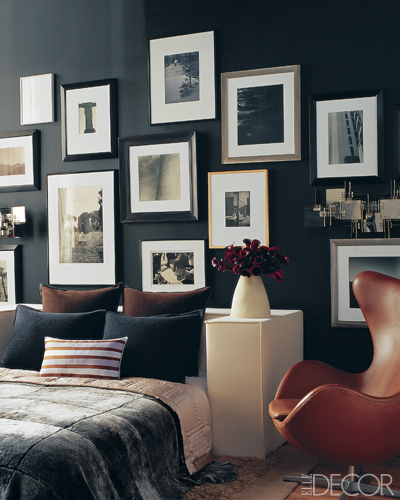 Decoração com parede preta 8