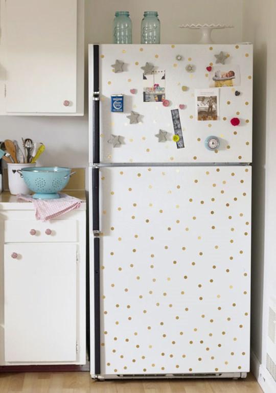 Ideias para personalizar a geladeira