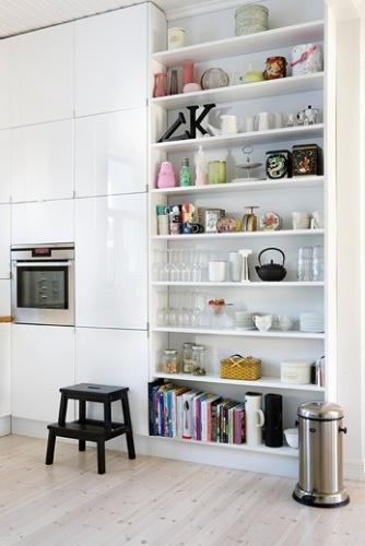 Estante na cozinha 5