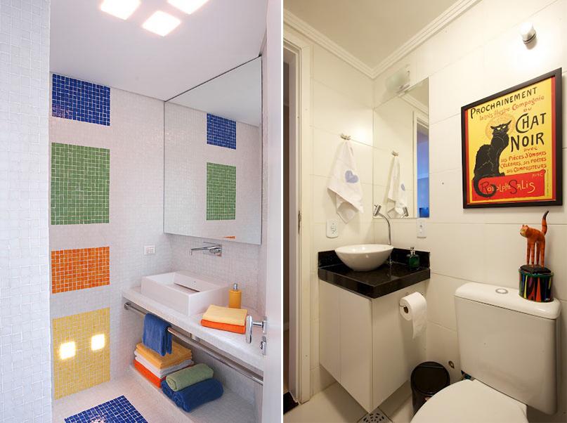 Ideias para banheiro pequeno 6