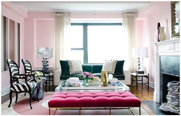 Pink na decoração 7