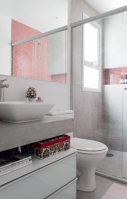 Ideias para banheiro pequeno 8