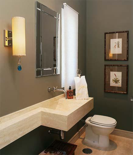 Banheiro decorado e charmoso 8