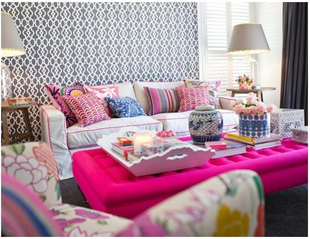 Pink na decoração 8