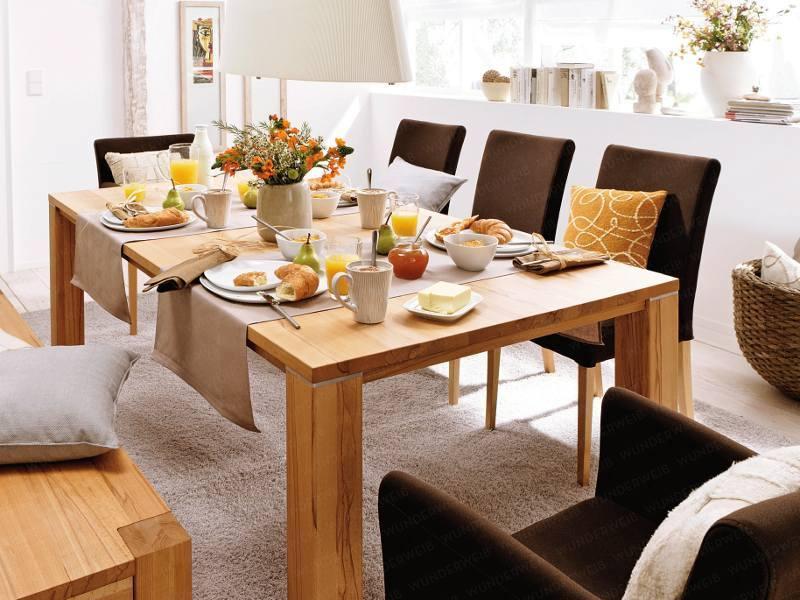 montar a mesa de café da manhã