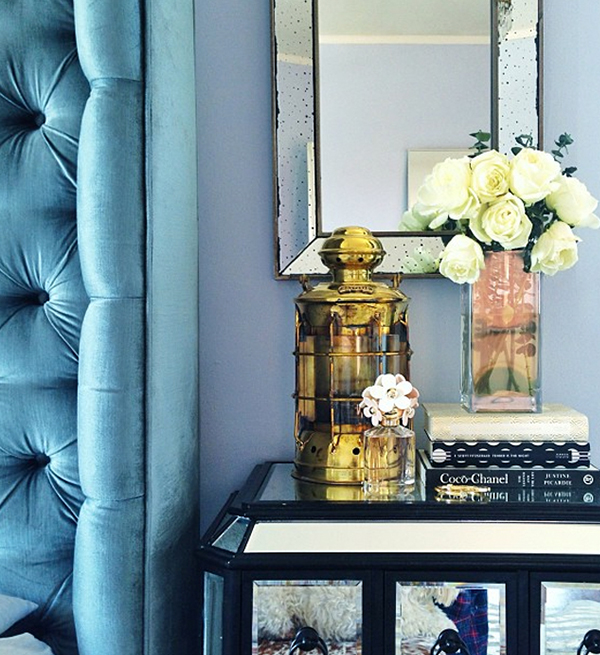 Azul petróleo na decoração