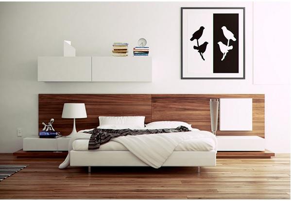 Painel de madeira na decoração 7