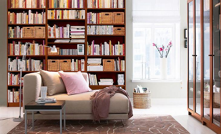 Biblioteca em casa 9