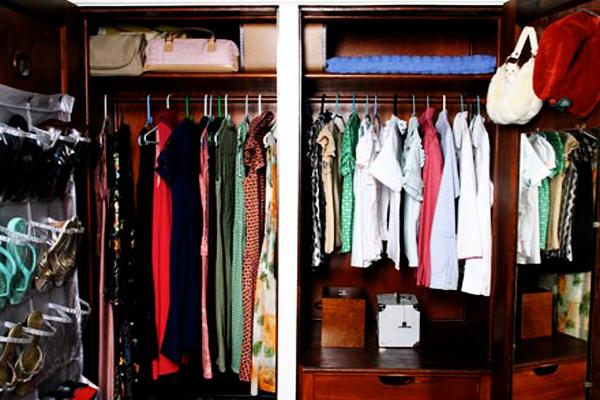 Como arrumar o armário