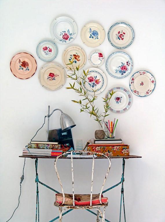 Pratos decorativos de parede