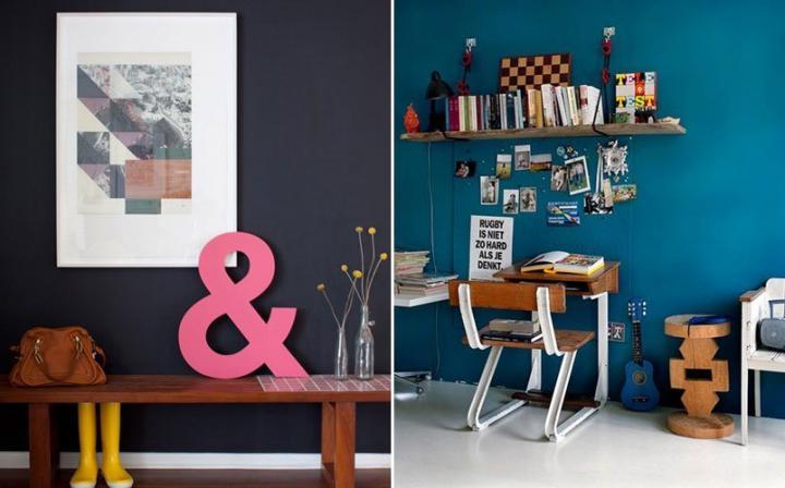 Como combinar as cores na decoração