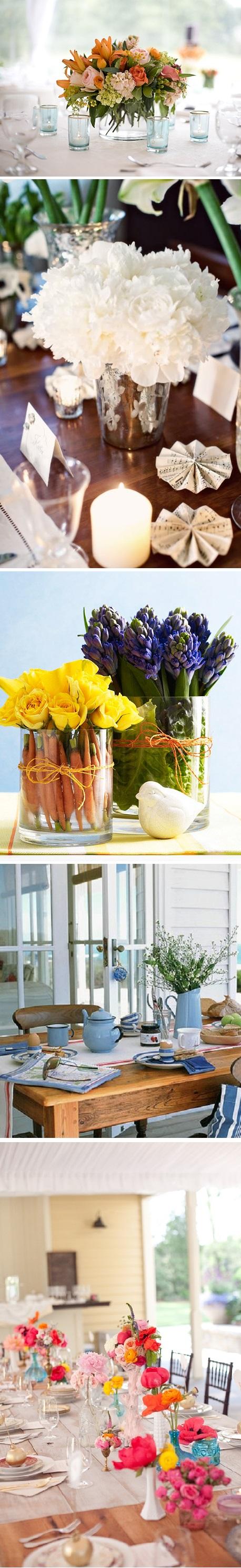 Arranjo de flores para mesas 3