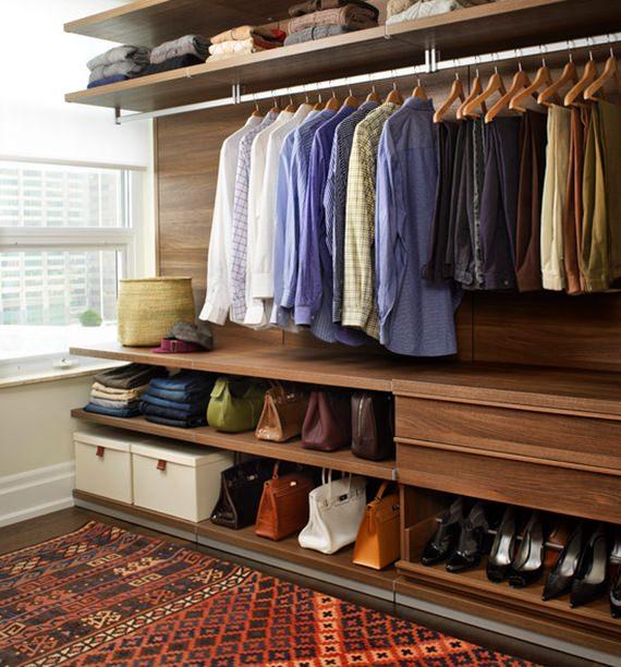 Como organizar um guarda-roupa feminino 2