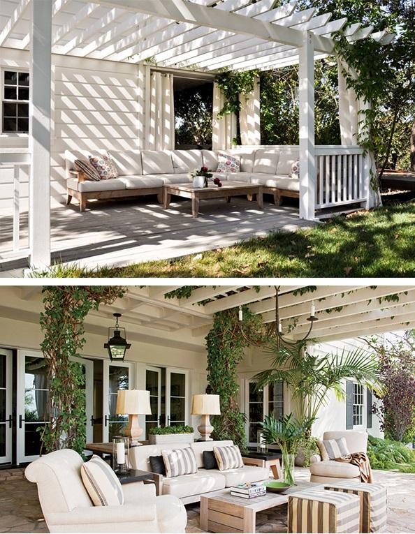 sala de estar na rea externa. Black Bedroom Furniture Sets. Home Design Ideas