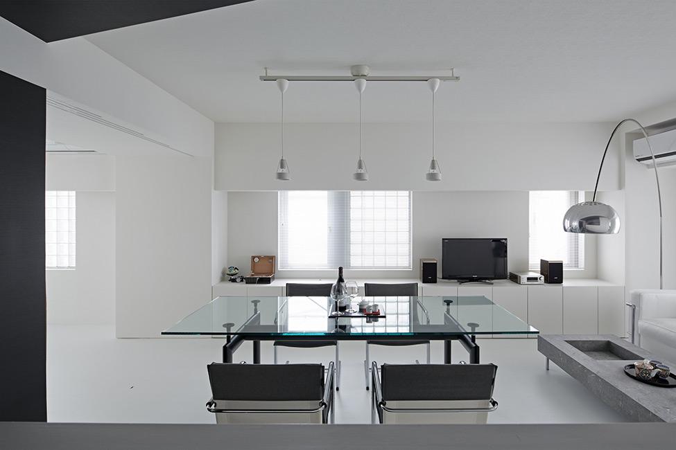Apartamento em Preto e Branco 3
