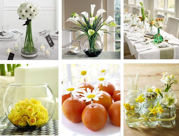 Arranjo de flores para mesas 2