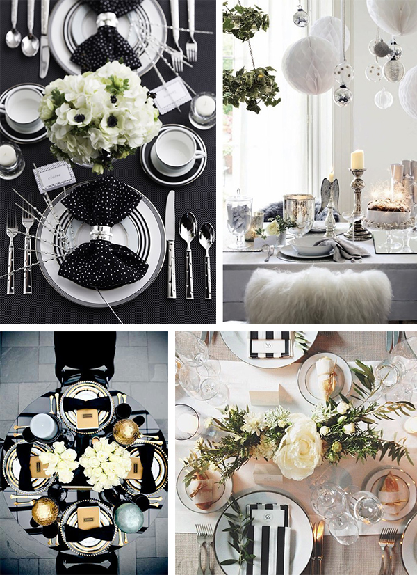 Mesa preto e branco 2