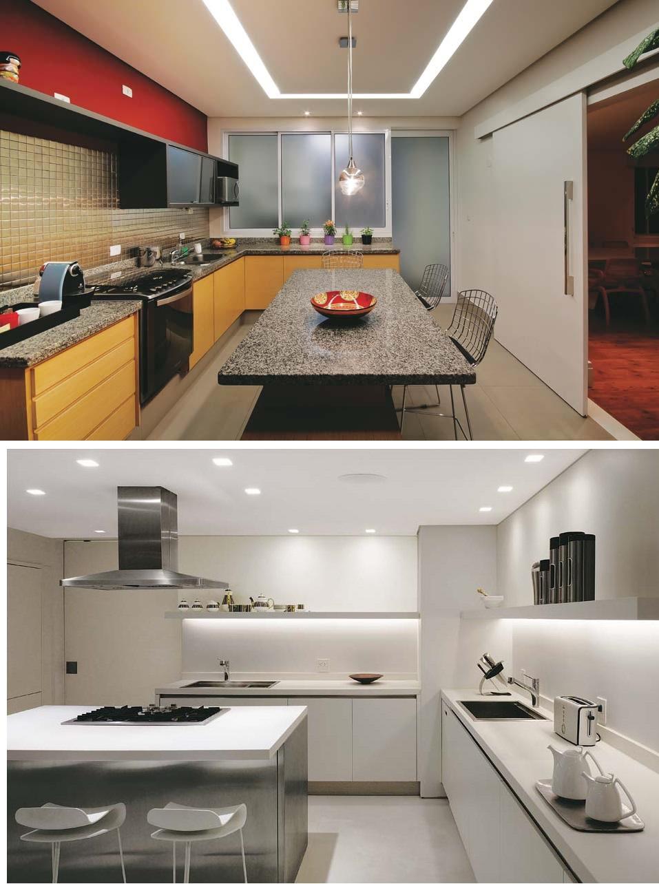Iluminação na cozinha 2