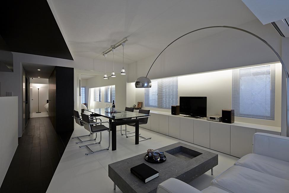Apartamento em Preto e Branco 5