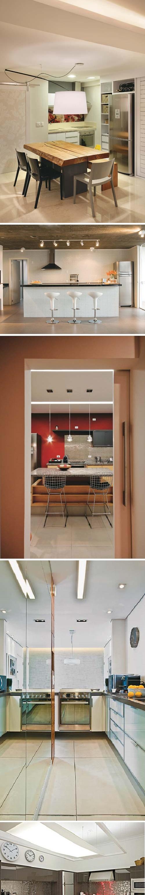 Iluminação na cozinha 3