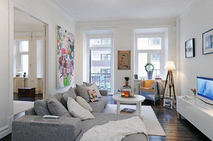 Apartamentos pequenos 10