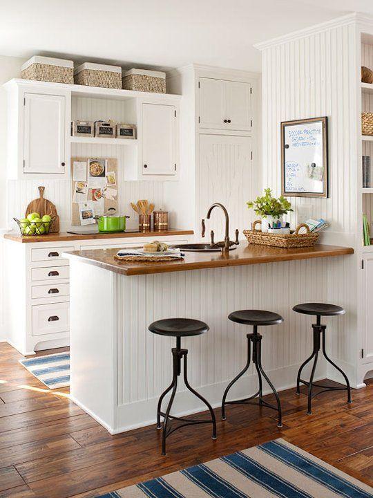 Cozinha pequena decorada 11