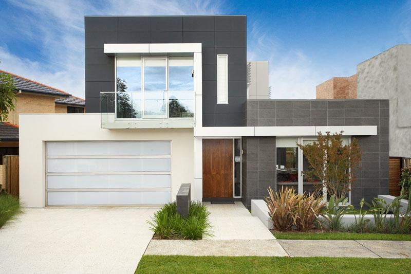 Fachadas de casas modernas for Casas modernas para construir