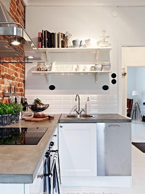 Cozinha pequena decorada 14