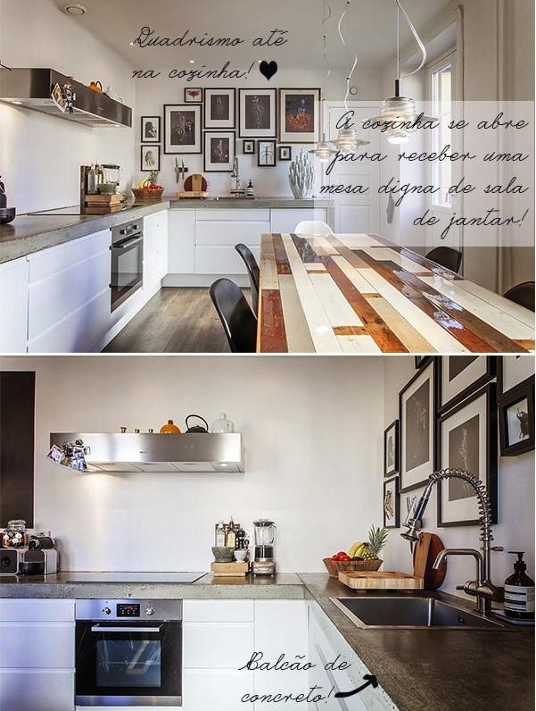 sala e cozinha conjugadas 2