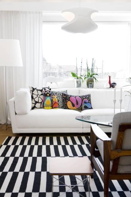 Preto e branco na decoração 10