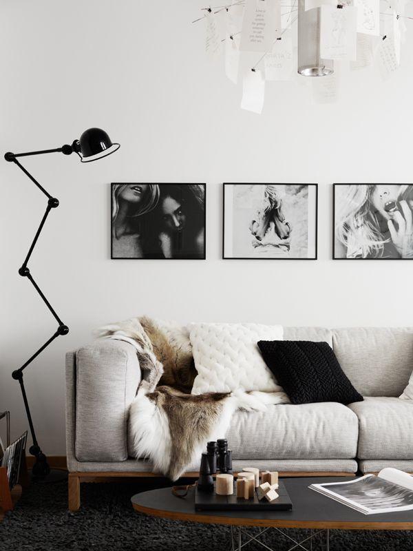Preto e branco na decoração 11