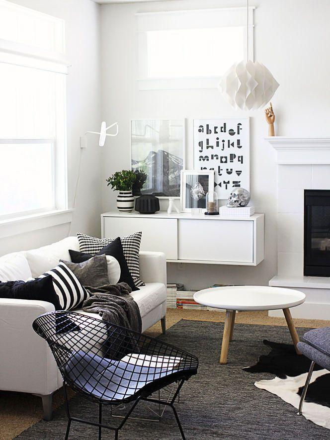 Preto e branco na decoração 6