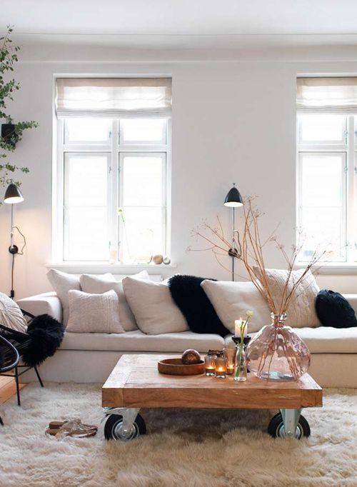 Preto e branco na decoração 7