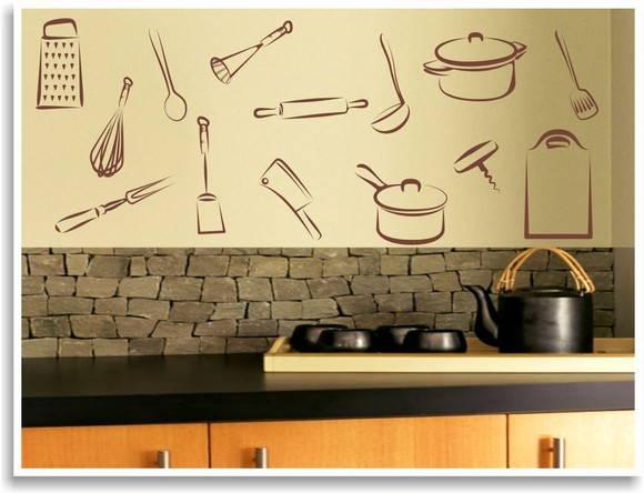 adesivos decorativos para cozinha