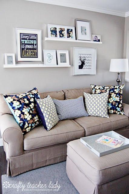 como decorar uma sala pequena 4