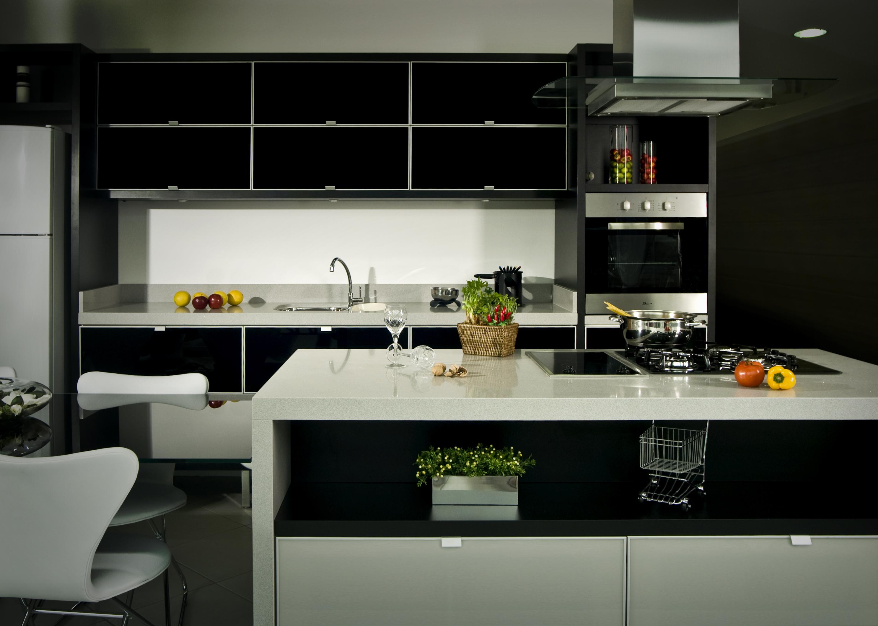 projeto de cozinha planejada para apartamento pequeno #B79514 2973 2120
