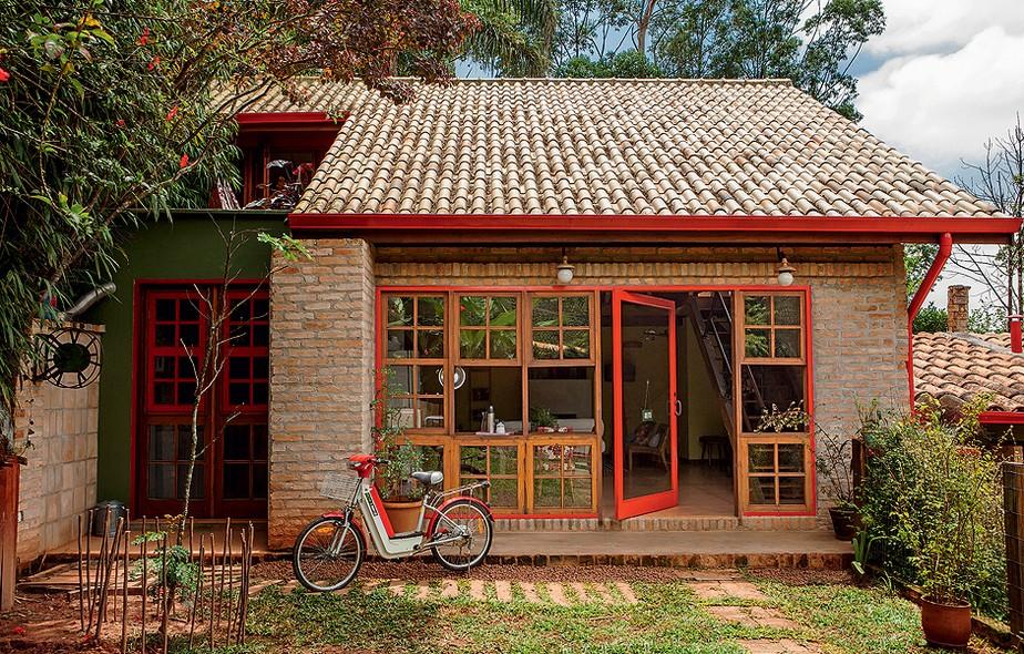 Casas de tijolo a vista 10