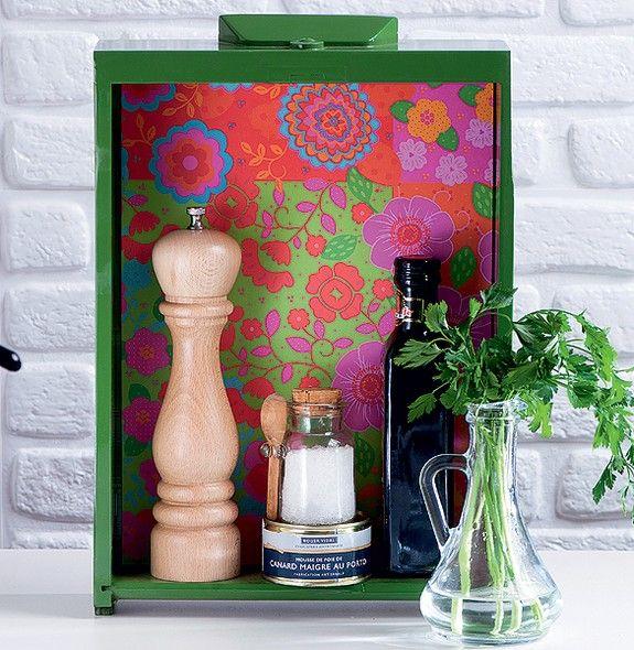 Reciclagem e decoração: gavetas antigas 6
